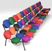 Marshmallow sofa Long Max 3d model
