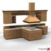 Kitchen003_3ds.zip 3d model