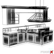 Kitchen003_3ds.zip 3d model