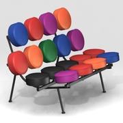 Marshmallow sofa Short Max 3d model