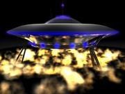 Flytande fat / UFO 3d model
