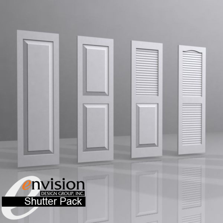 Shutter Collection royalty-free 3d model - Preview no. 1