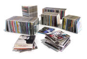 "collection of cd""s 3d model"