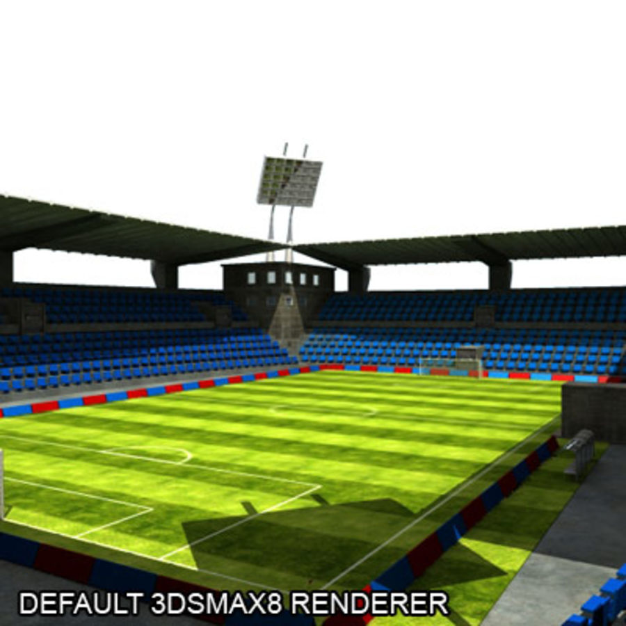 MR Stadyumu royalty-free 3d model - Preview no. 13