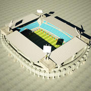 Estádio MR 3d model