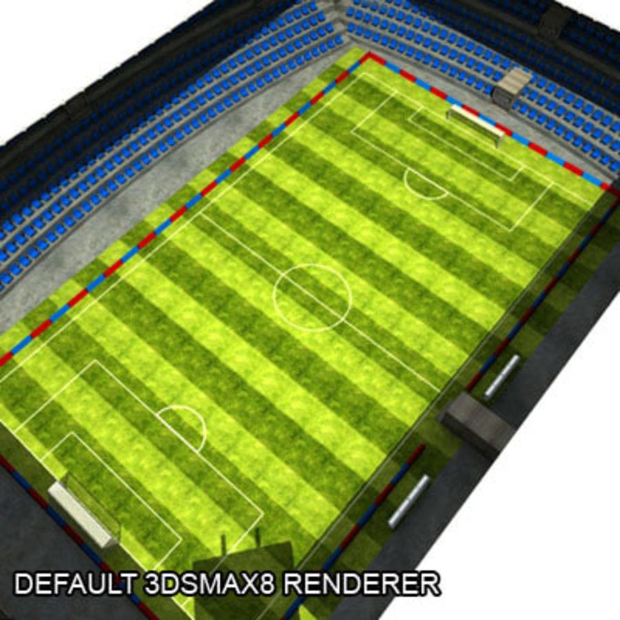 MR Stadyumu royalty-free 3d model - Preview no. 14