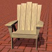 Adirondack Chair 3ds 3d model