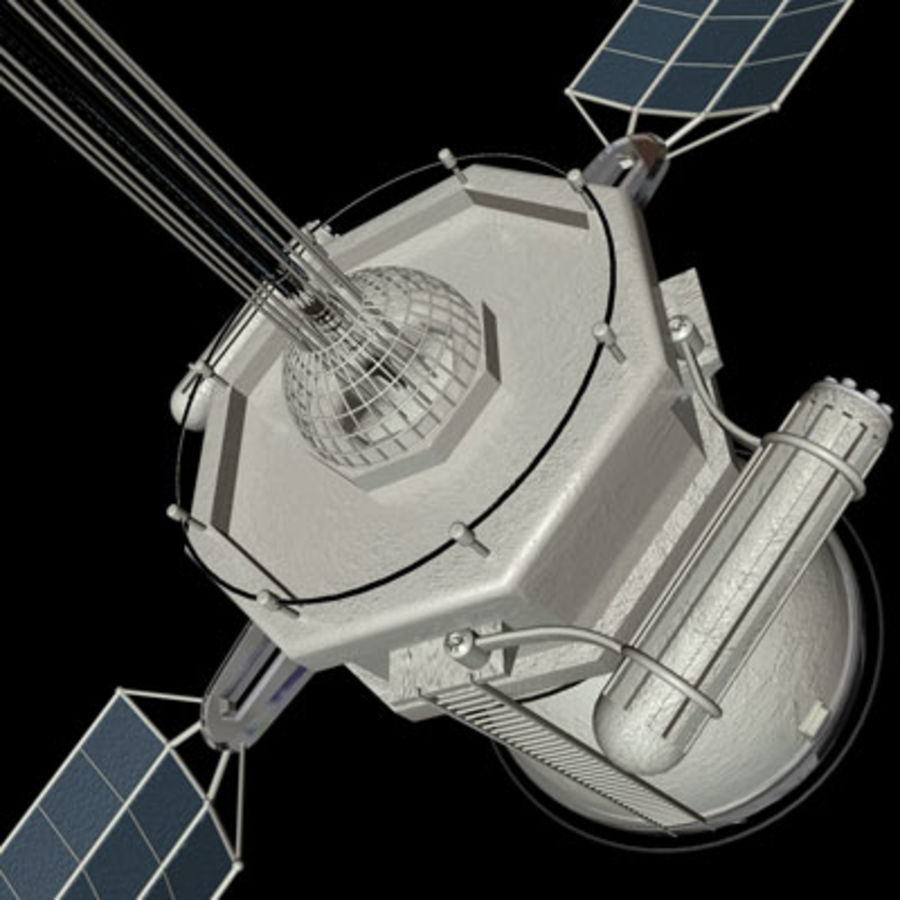 Satellite royalty-free 3d model - Preview no. 3