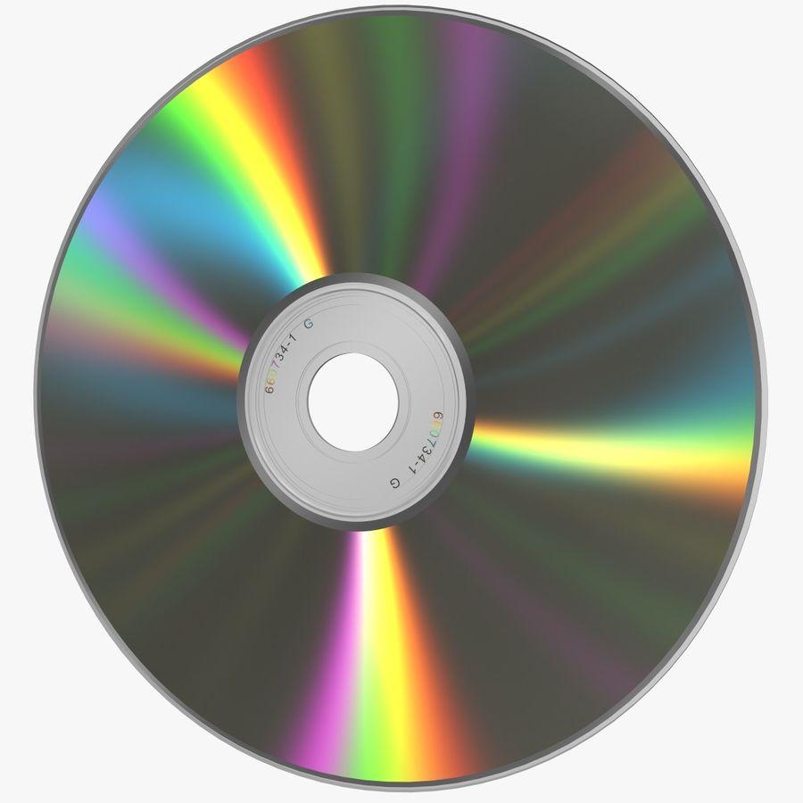 CD DVD 디스크 royalty-free 3d model - Preview no. 1