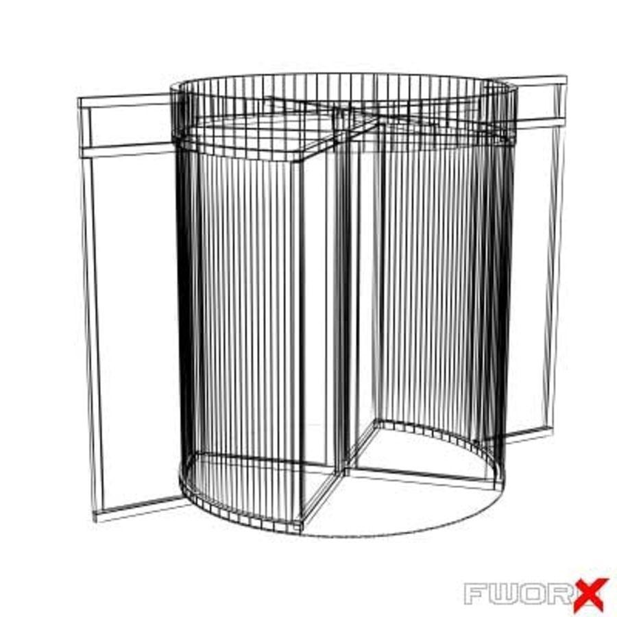 Swing door001_max.zip royalty-free 3d model - Preview no. 2