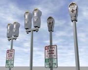 Parking Meters.zip 3d model