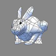 hare.obj 3d model