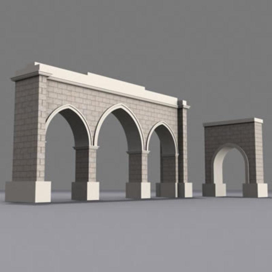 gate royalty-free 3d model - Preview no. 4