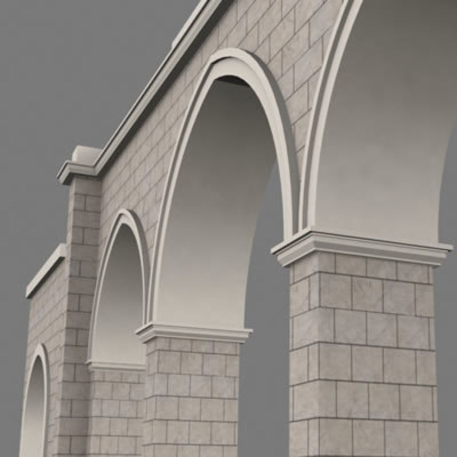 gate royalty-free 3d model - Preview no. 8