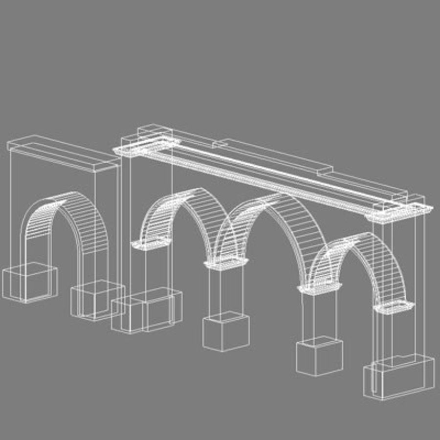 gate royalty-free 3d model - Preview no. 9