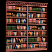 bookcase_maya.zip 3d model