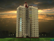 Block_of_flats 3d model