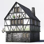 Medieval Taverne_LOWPOLY 3d model