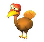 Personaggio della Turchia 3d model