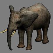 Elephant 01 3d model