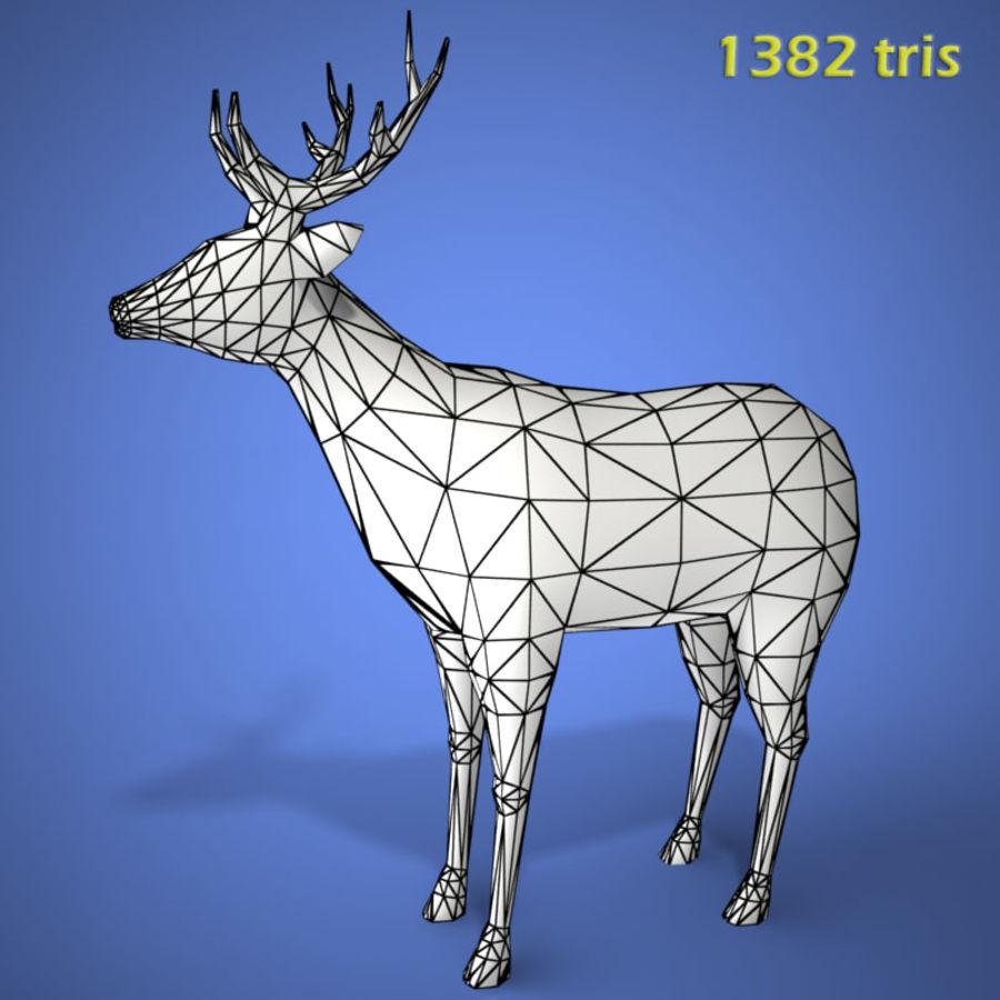 Colección de animales en tiempo real royalty-free modelo 3d - Preview no. 10