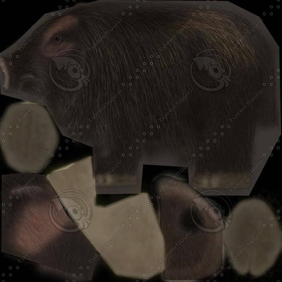 Colección de animales en tiempo real royalty-free modelo 3d - Preview no. 9