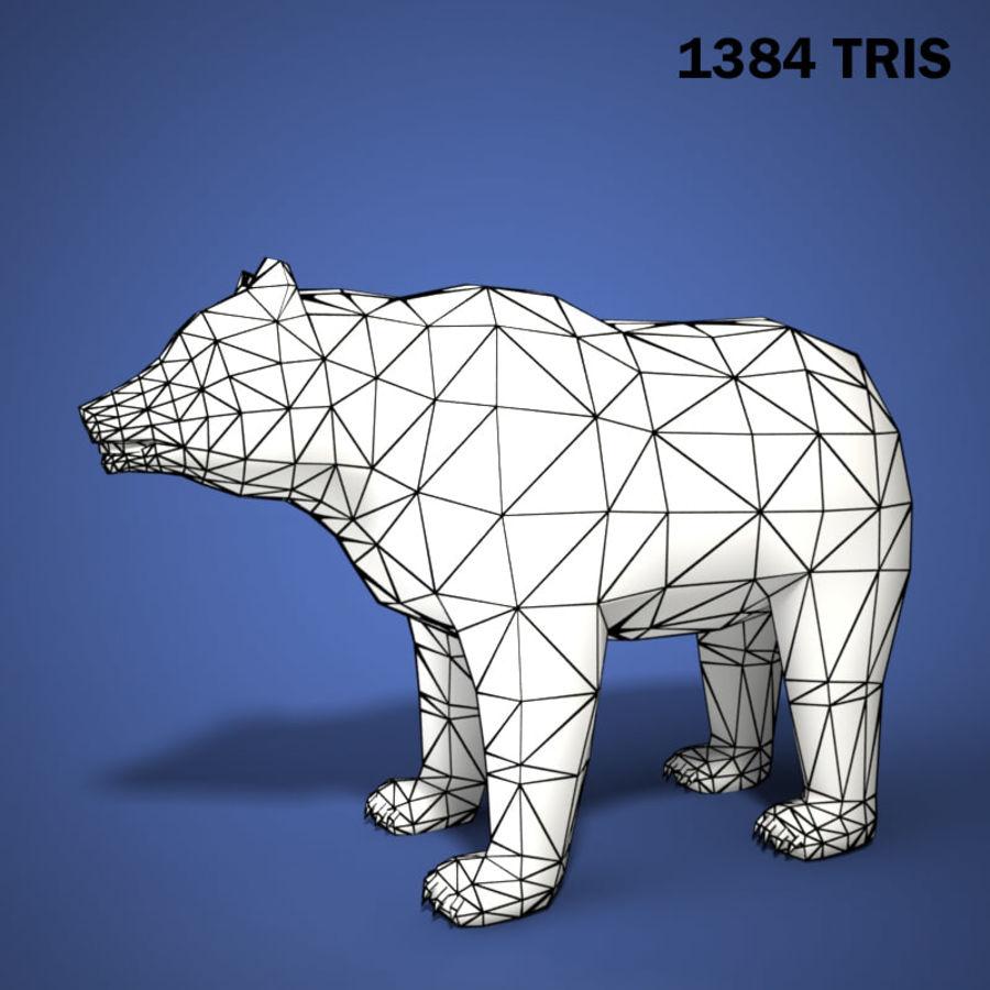 Colección de animales en tiempo real royalty-free modelo 3d - Preview no. 13