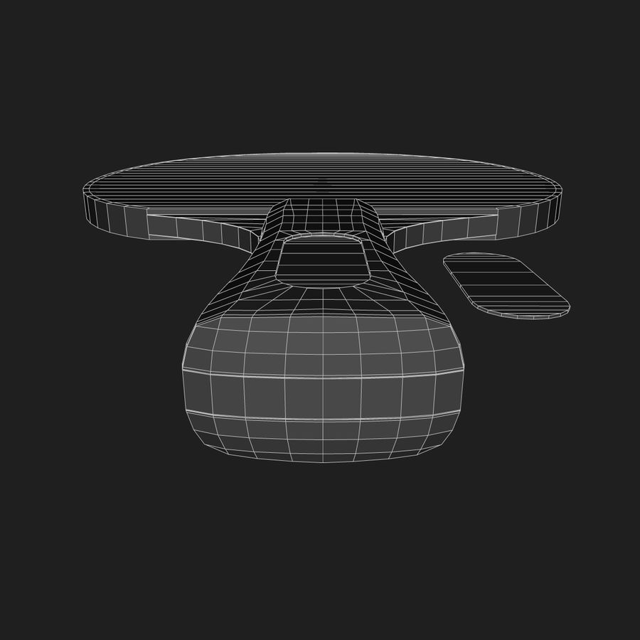 Table Tennis Paddle royalty-free 3d model - Preview no. 8