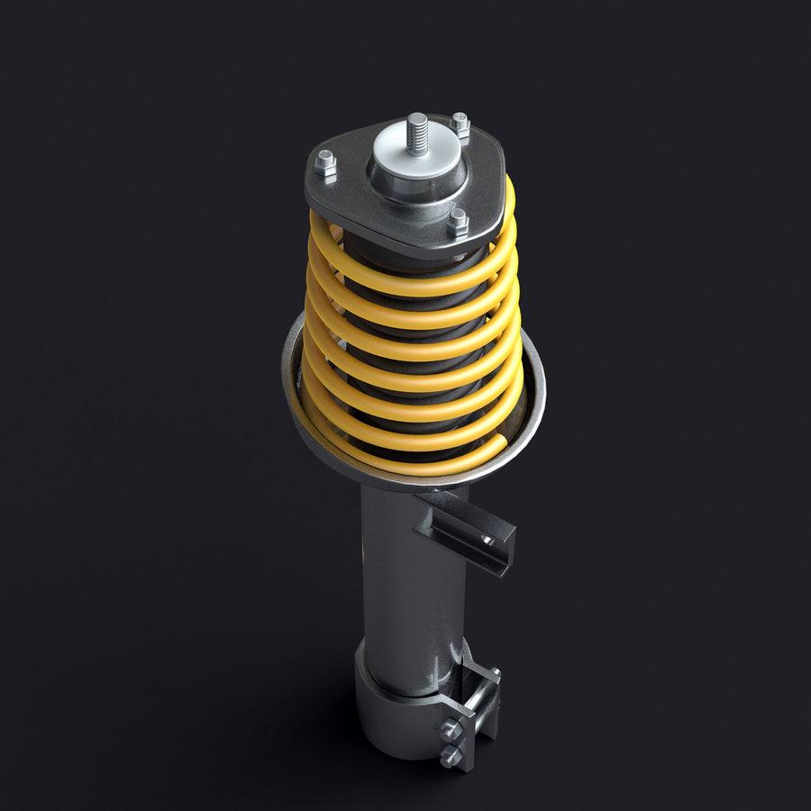 Amortiguador royalty-free modelo 3d - Preview no. 4