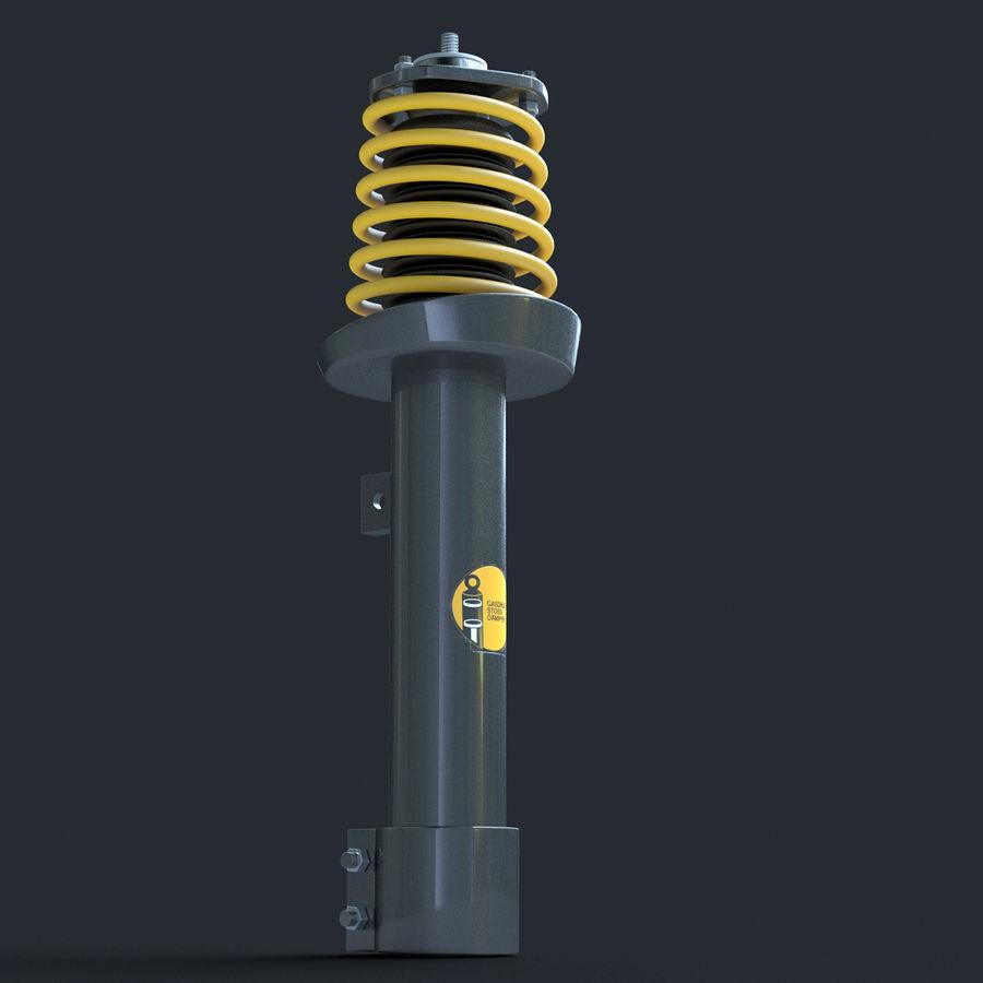Amortiguador royalty-free modelo 3d - Preview no. 5