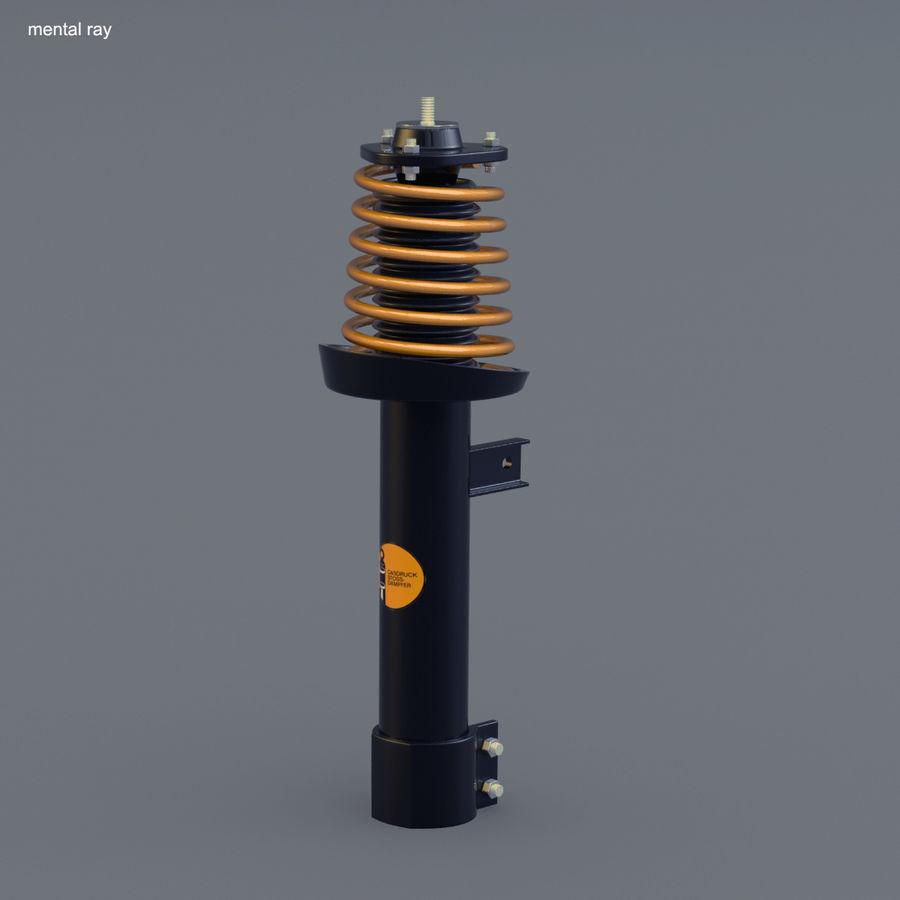 Amortiguador royalty-free modelo 3d - Preview no. 7