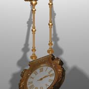 Decorative Clock 3d model