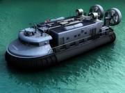 hovercraft 3ds 3d model