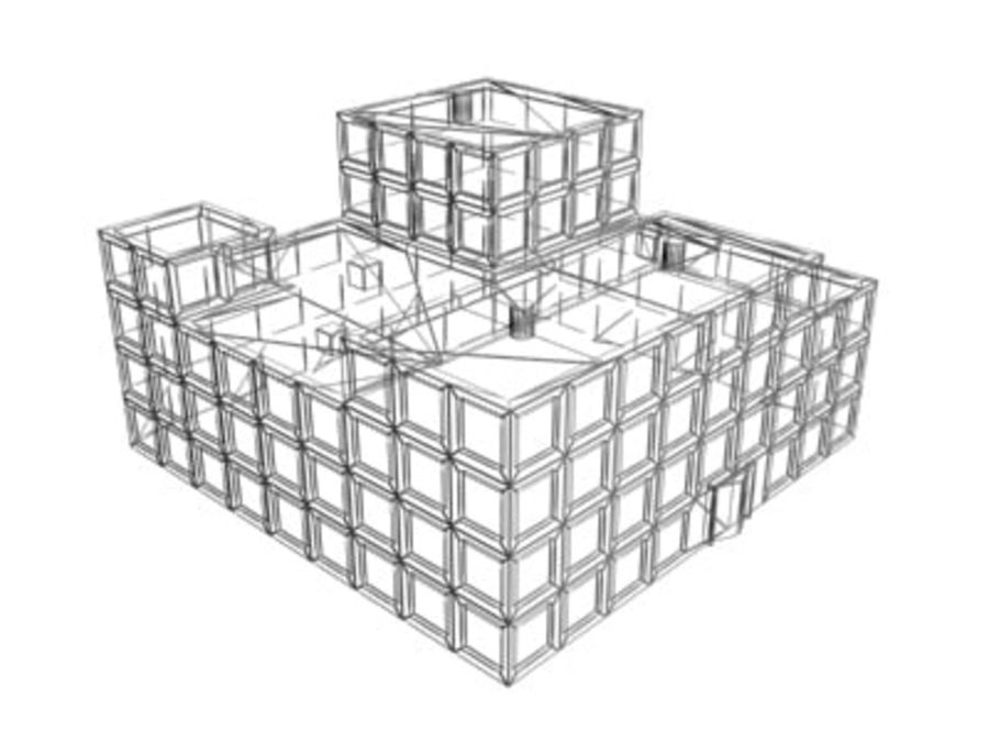 building03.max royalty-free 3d model - Preview no. 2
