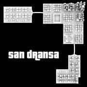 San Dransa 3d model