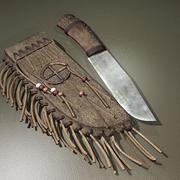 Knife & Sheath.zip 3d model