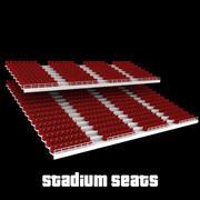 stadion platser v1 3d model