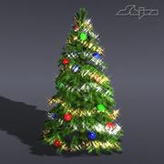 Weihnachtsbaum-Lite 3d model