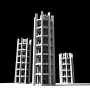 Towers 3d model