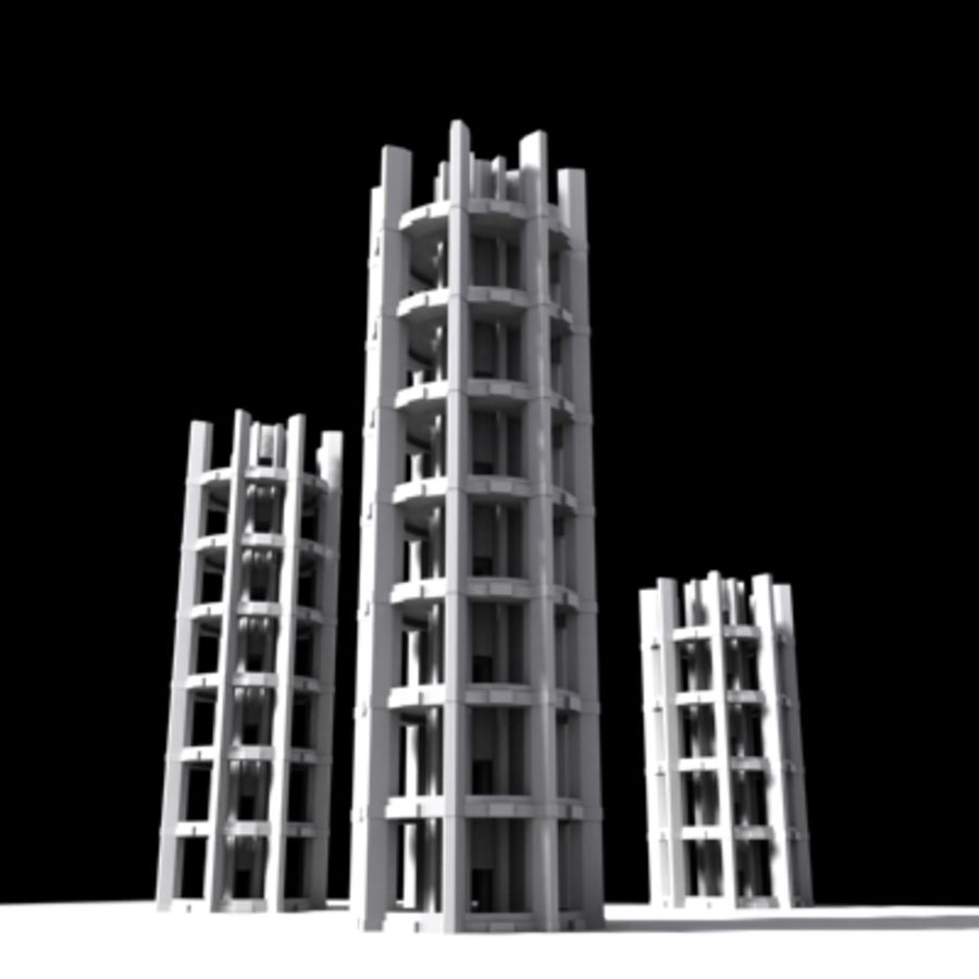 Torres royalty-free 3d model - Preview no. 1