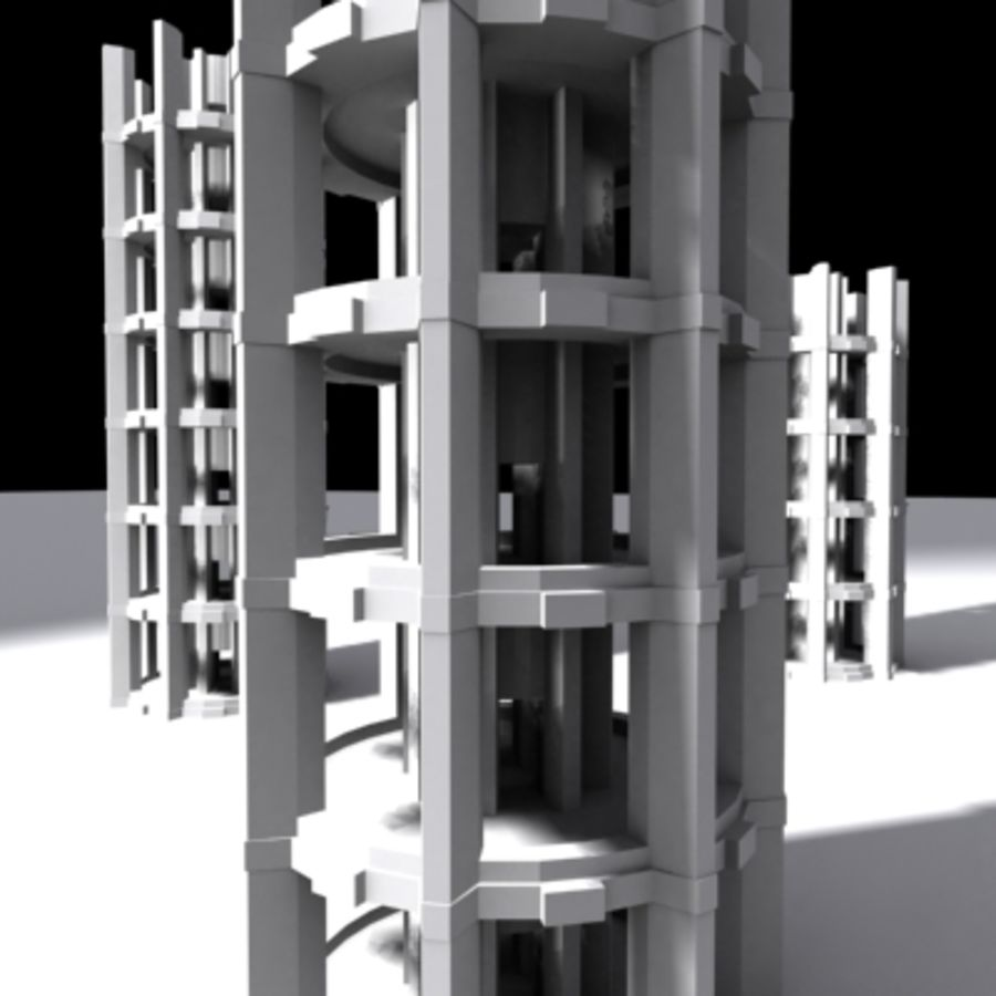 Torres royalty-free 3d model - Preview no. 2