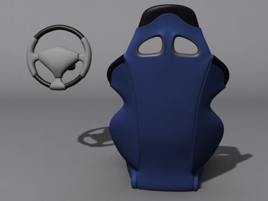 CarSeat.zip royalty-free 3d model - Preview no. 5