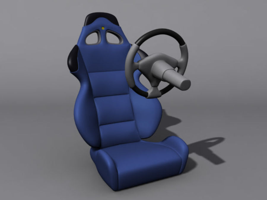 CarSeat.zip royalty-free 3d model - Preview no. 2