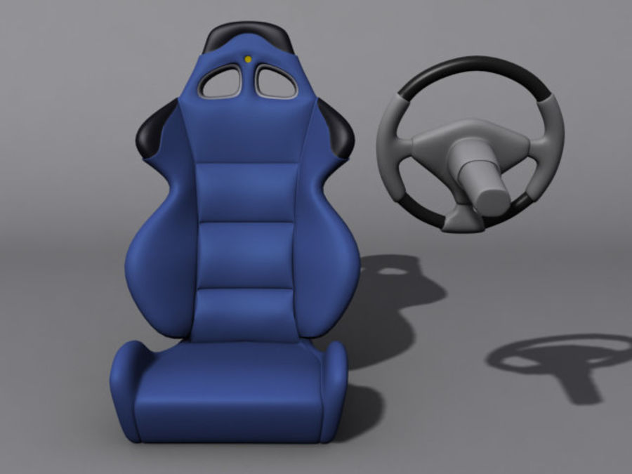CarSeat.zip royalty-free 3d model - Preview no. 1