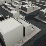Zufällige Stadt 3d model
