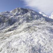 Alaskan Mountain 3d model