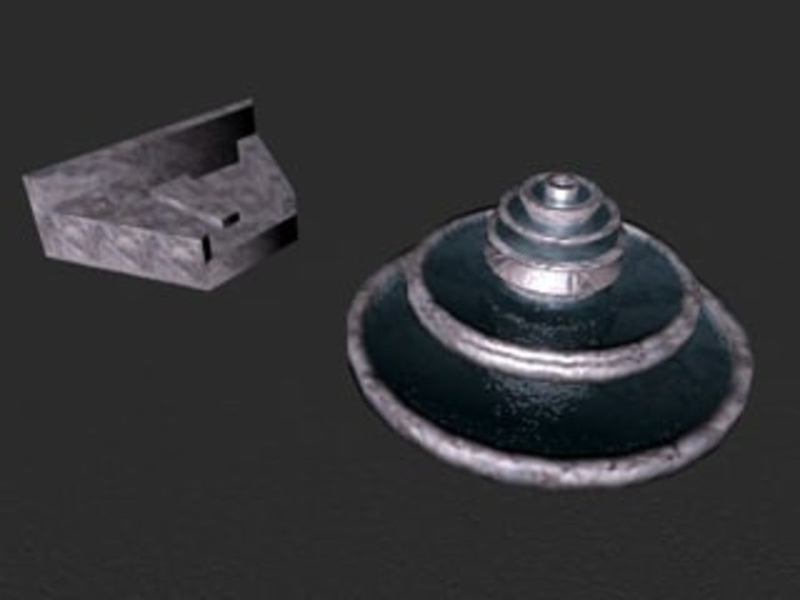 fountain3ds.3ds royalty-free 3d model - Preview no. 1