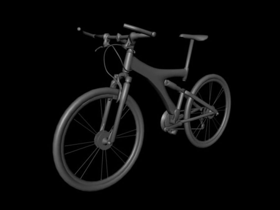 Mountainbike royalty-free 3d model - Preview no. 2