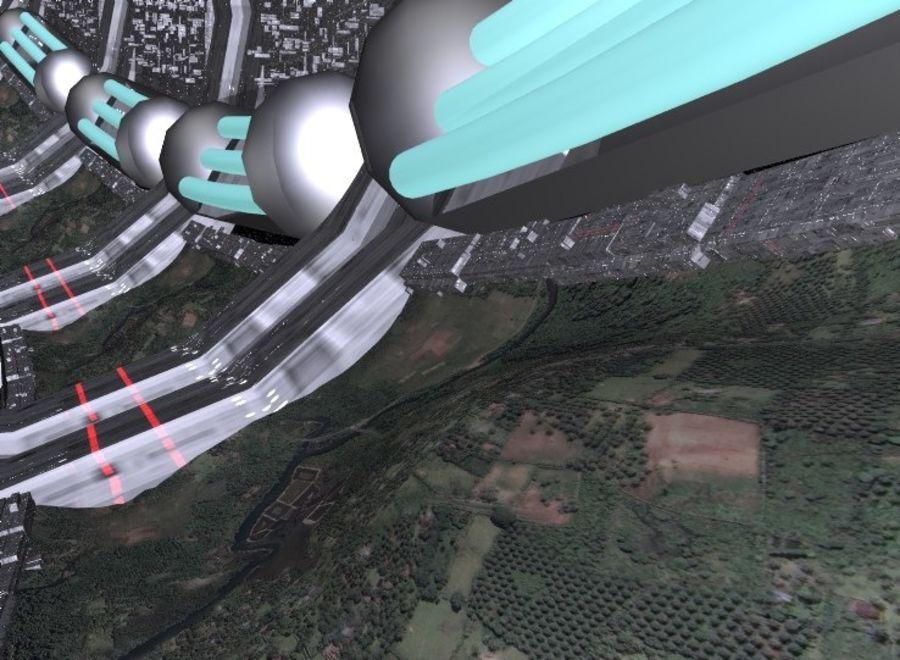 station inside.rar royalty-free 3d model - Preview no. 4