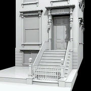 New York Brownstone 3d model